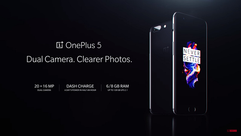 Resmi Dirilis, Inilah Harga dan Spesifikasi OnePlus 5