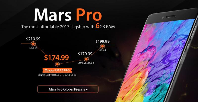Mars Pro: Flagship Android Murah Berspesifikasi Mewah