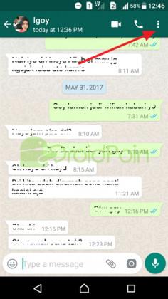 Cara Mencari Kata pada Chat di WhatsApp Android