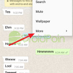 Cara Reset Chat di WhatsApp Android