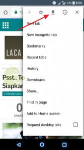 Cara Menyimpan Halaman Web Secara Offline di Chrome Android