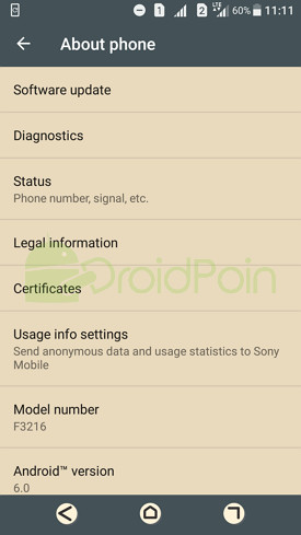 Cara Update Android Nougat di Ponsel Sony Xperia