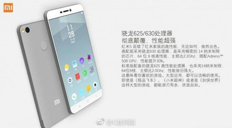 Tidak Hanya Seri Redmi Note, Xiaomi Redmi 5 bakal Segera Meluncur!