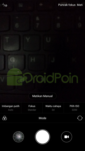 Cara Masuk Mode Kamera Manual di Xiaomi
