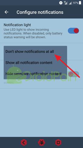 Cara Menonaktifkan Notifikasi Android di Lock Screen