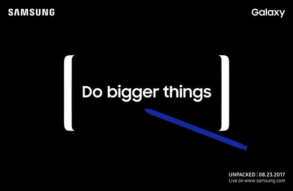 Catat! Samsung Galaxy Note 8 Diperkenalkan Pada 23 Agustus 2017