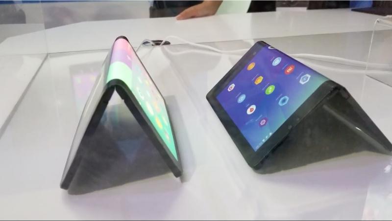 Perkenalkan Lenovo Folio, Tablet yang Layarnya Bisa Ditekuk
