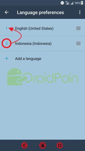Cara Mengganti Bahasa di Android Nougat