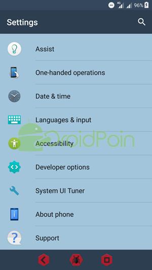 Cara Memunculkan Persentase Baterai pada Android