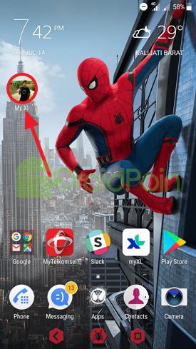 Menambahkan Kontak WhatsApp ke Home Screen Android