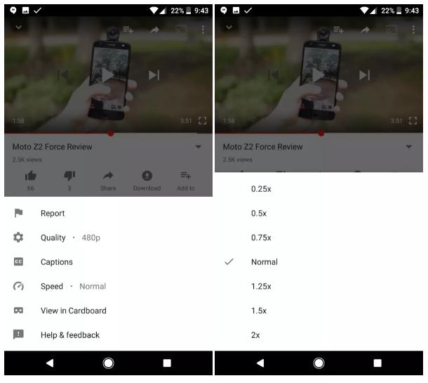 Tak Lama Lagi Kamu Bisa Mengatur Kecepatan Video di YouTube