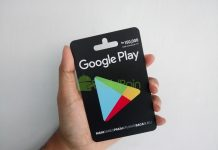 Cara Redeem Google Play Gift Card via Web