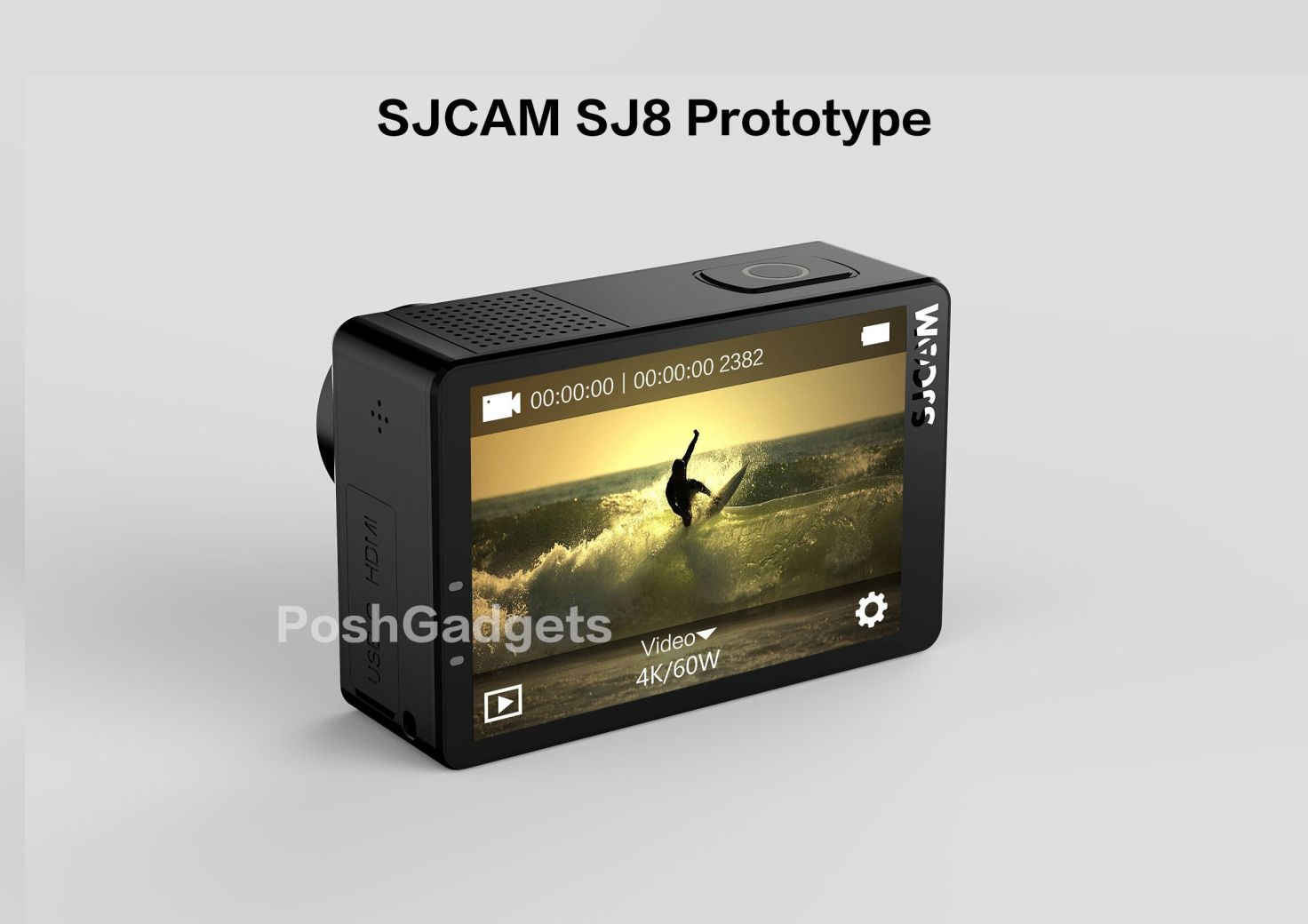 Action Camera SJCAM SJ8 (4K 60fps) Segera Dirilis