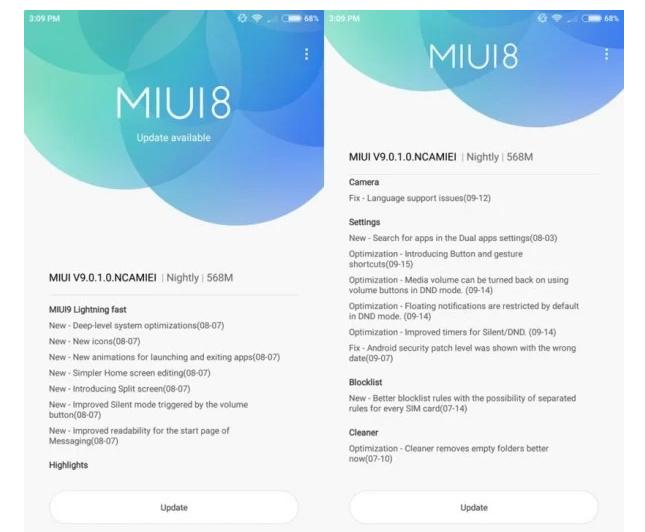 Global ROM MIUI 9 Versi Stabil Tersedia untuk Xiaomi Mi6 dan Mi Max 2