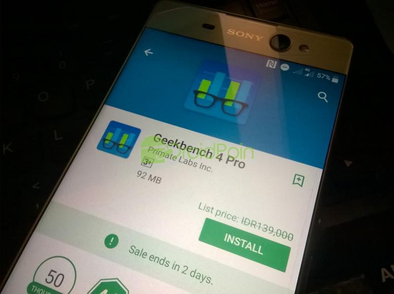 Dapatkan Aplikasi GeekBench 4 Pro Gratis Disini!
