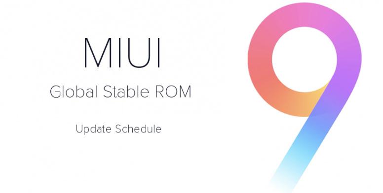 Inilah Jadwal Update MIUI 9 Global Stable — Beserta Daftar Perangkatnya