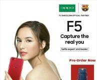 Preorder Oppo F5 di Indonesia Dimulai Esok Hari!