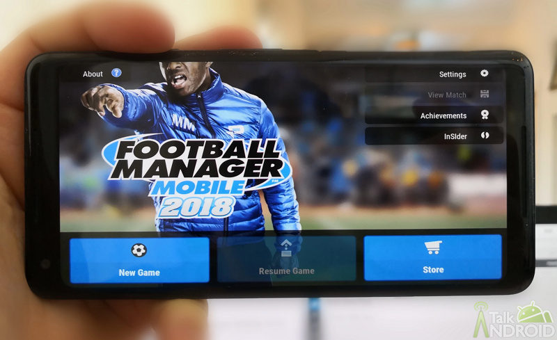 Football Manager Mobile 2018 Resmi Hadir di Play Store Android