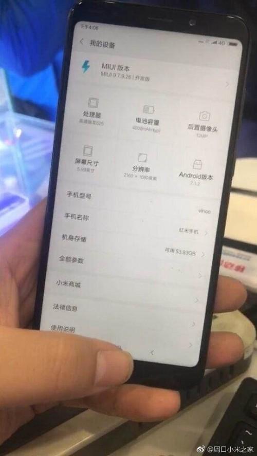 Spesifikasi Xiaomi Redmi Note 5 Terungkap, Inilah Detailnya
