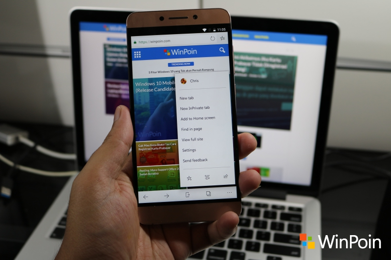 Microsoft Edge untuk Android Resmi Tersedia di Play Store!