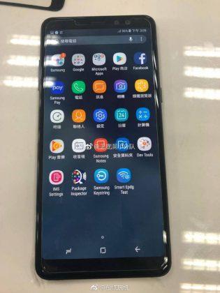 Inikah Wujud dari Samsung Galaxy A8+ (2018)?