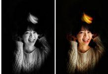 Tutorial Membuat Efek Stage Light Ala iPhone X Hanya Pakai Snapseed