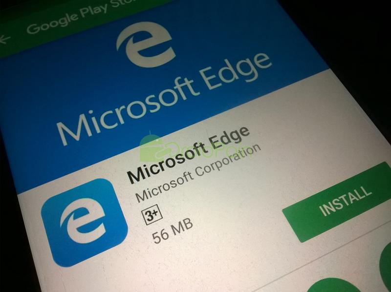 Microsoft Edge untuk Android Resmi Tersedia di Play Store! (Update: Termasuk Indonesia)
