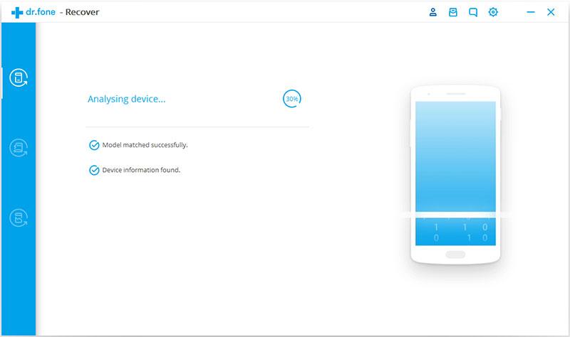 Mengembalikan Data yang Hilang di Android dengan dr.fone