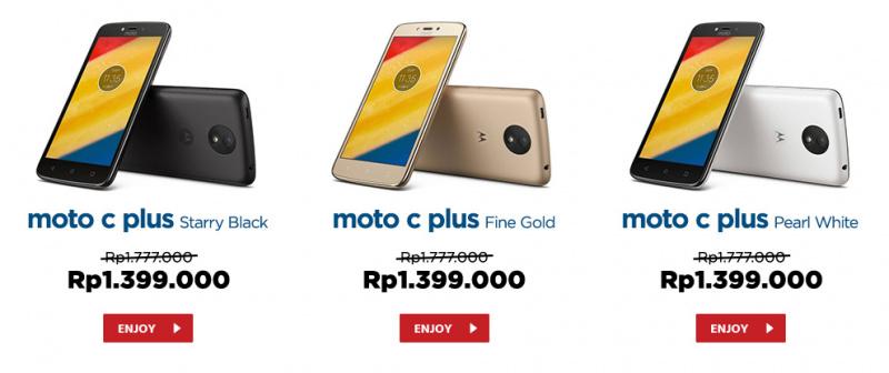 Flash Sale Moto C Plus Resmi Dibuka, Segera Dapatkan Sebelum Kehabisan!