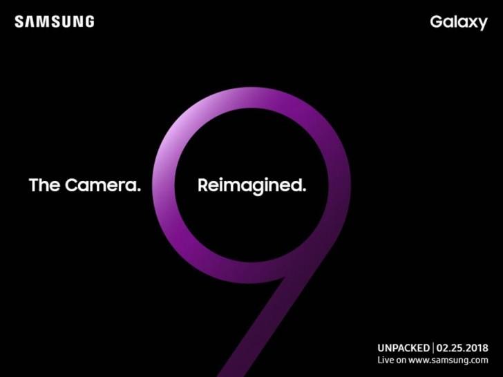 Sebar Undangan, Samsung Galaxy S9 Bakal Hadir dengan Fitur Kamera Terbaru!