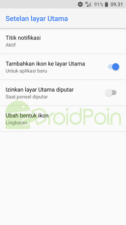 Cara Mengubah Bentuk Ikon di Android Oreo