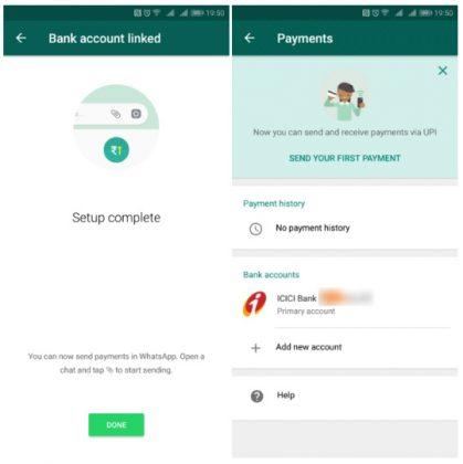 Fitur Mobile Payments WhatsApp Sudah Tersedia di India