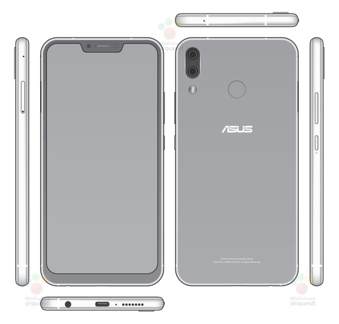 Salah Satu Varian Asus Zenfone 5 Punya Desain Seperti iPhone X?