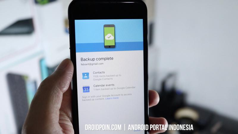 Cara Memindahkan Kontak dari iPhone ke Android
