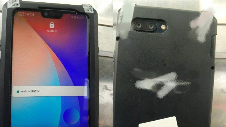 Bocoran Tampilan Huawei P20 Lite: Mirip iPhone X!