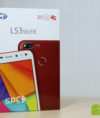 Unboxing SPC L35 Selfie: Ponsel Dual Kamera Selfie Murah Besutan Brand Lokal