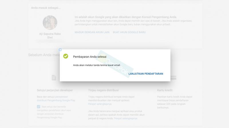 Cara Daftar Google Play Developer Dengan Kartu Debit