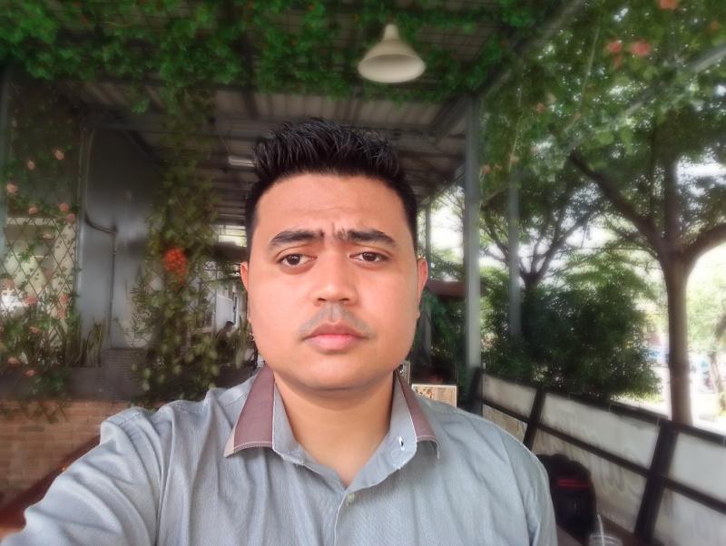 Hasil Kamera Depan SPC L53 Selfie