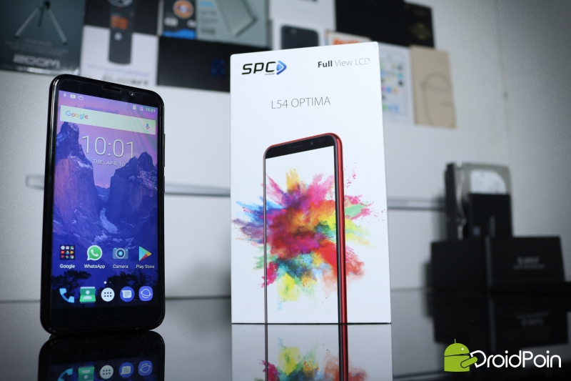 Unboxing & Review SPC L54 Optima — Ponsel Full View Display Murah Indonesia