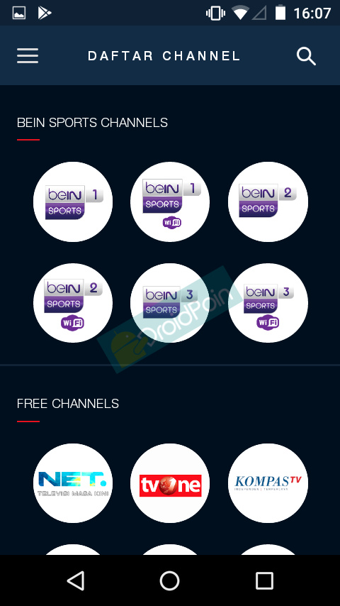 Cara Streaming Gratis beIN Sports di Android via MAXstream