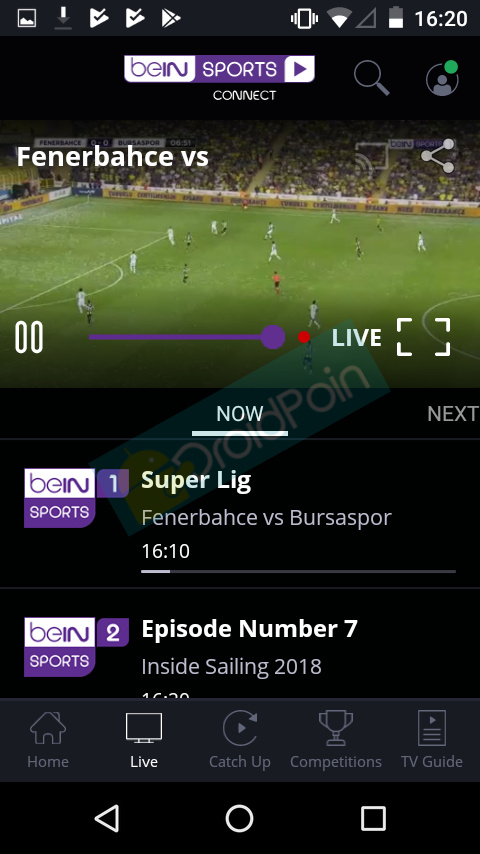 Cara Nonton beIN Sport di Android via beIN SPORTS CONNECT