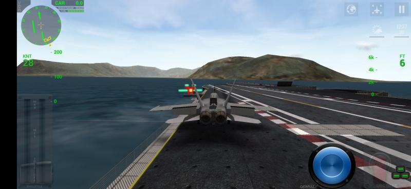 "F-18 Carrier Landing Lite Rasakan Pengalaman Men-""Joki"" Pesawat Tempur"
